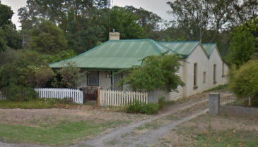 Former home of Susannah Hapgood (later Dando) in Castlemaine Vic