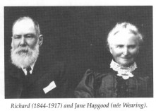 Richard Hapgood and Jane Wearing