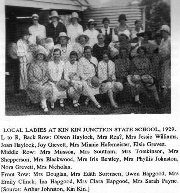Kin Kin Junction State School Local Ladies